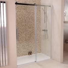 1400 Shower Door 1400 X 900 Aquafloe Elite Ll 8mm Sliding Shower Enclosure