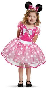 Mouse Halloween Costume Toddler U0027s Pink Minnie Mouse Deluxe Tutu Halloween Costume Toddler