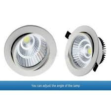 fcc compliant led lights china 20w led downlight angle can be adjusted ce fcc rohs