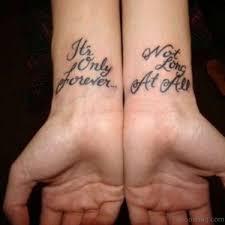 41 pleasant quote tattoos on wrist
