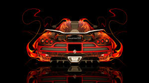 koenigsegg ccxr backup fire abstract car 2014 el tony