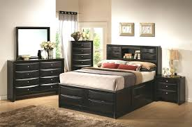 bookcase solana queen platform bed with bookcase headboard