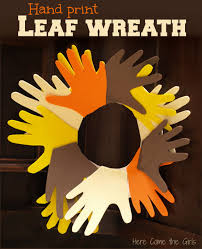 leaf wreath wreaths craft and leaves