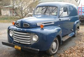Classic Ford Truck Database - for sale 1949 ford panel truck