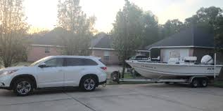 toyota highlander towing experience the hull boating