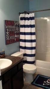 bathroom ideas for boys boy bathroom already the shower curtain lets do pirate