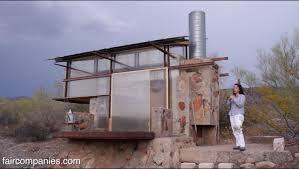 Modern Frank Lloyd Wright Style Homes Survivalist Tiny Dorms At Frank Lloyd Wright U0027s Taliesin