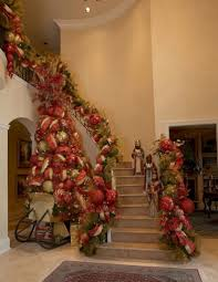 24 awesome christmas staircase decor ideas u2013 24 spaces