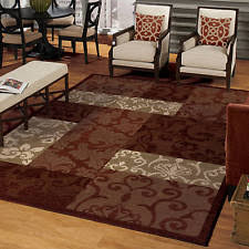 Fall Area Rugs Modern Area Rugs For Family Living Room Burgundy Gold Brown Fall