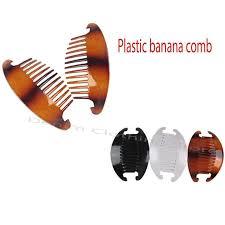 banana comb 3 12set 24pc jumbo interlocking jaw hair comb banana clip