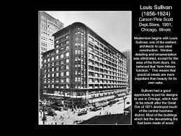 Louis Sullivan by Chapter 16 Twentieth Century Architecture Modernism Ppt Download