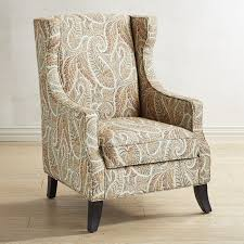 Pier One Paisley Curtains by Alec Sunset Paisley Wing Chair Pier 1 Imports