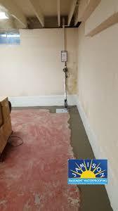 basement waterproofing in blue bell