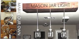 mason jar home decor ideas making light fixtures home interior inspiration
