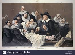 taft and his cabinet after rembrandt u0027s anatomy lesson