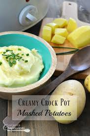 Do Ahead Mashed Potatoes For Thanksgiving Creamy Crock Pot Mashed Potatoes My Recipe Confessions