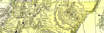 Map Of Counties In Utah by Utah 1895 County Maps