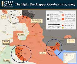Syria War Map by This Map Shows The Intensifying Battle For Syria U0027s Largest City