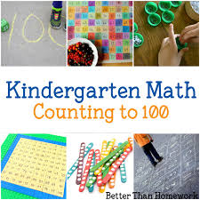 kindergarten math counting to 100 by ones and tens better than
