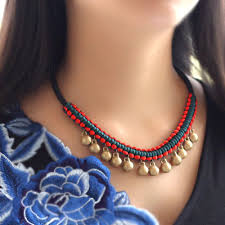 ethnic necklace jewelry images Original high quality unique pure handmade elegant necklace jpg