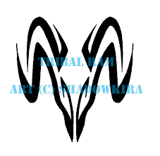 tribal aries design for