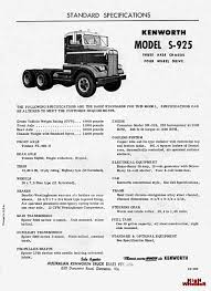 kenworth truck specs kenworth s900 commercial vehicles trucksplanet