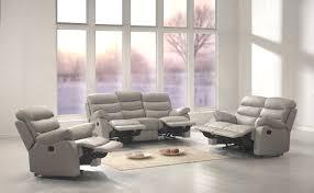 canape relaxe canapé de relaxation 3 places 2 relax cuir ronald canapé de