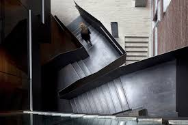 Black Banister Hotels U0026 Resorts High End Hotel Black Banister Glossy Stair Steps