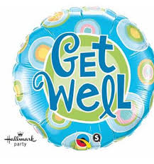 balloons get well soon get well soon radiant balloon online melbourne