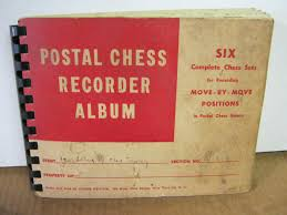 photo album sets postal chess recorder album six complete chess sets for recording