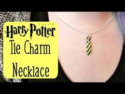 tie pendant necklace images Diy seed bead harry potter tie charm necklace how to bead jpg