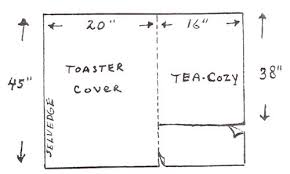 Large Toaster Oven Covers Free Appliance Cover Patterns U0026 Tutorials Tipnut Com