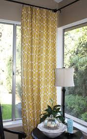 Yellow Patterned Curtains Yellow Curtains For Bedroom Blue Yellow Curtains Lemon And Grey
