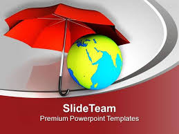 protect our world from global warming powerpoint templates ppt the
