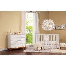 Ikea Mini Crib by Baby Mod Olivia 3 In 1 Crib White And Cherry Walmart Com