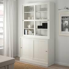 ikea kitchen cabinet sliding doors havsta storage with sliding glass doors white 47 5 8x18 1 2x83 1 2