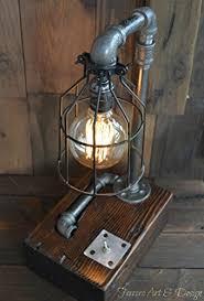 Industrial Rustic Lighting Amazon Com Steampunk Desk Lamp Lighting Rustic Light Industrial