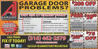Garage Door Opener Repair Service by A 1 Garage Door Service U2013 Buy Local Plus