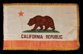 California Republic Flag Jeff Bridgman Antique Flags And Painted Furniture California