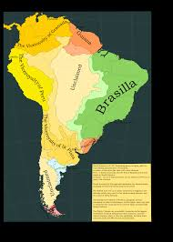 Map Of South America In Spanish by Janszoon A Dutch Australia Tl Page 3 Alternate History Discussion