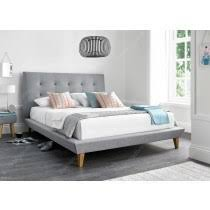 fabric beds single double u0026 king size beds free uk delivery