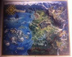 Suikoden World Map by Unexplored Portions Of Established Game Worlds Neogaf