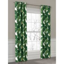 Emerald Green Curtain Panels by Grommet Outdoor Curtain Green Banana Outdoor Curtains And