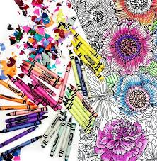 crayola free coloring pages adults kids u2013 canadian savings
