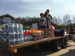 Wildfire Bc Area by Group From Fort Mcmurray Sending Help To Those Affected By Bc
