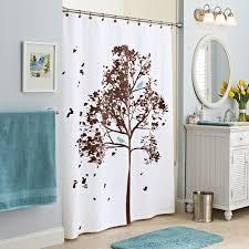 Bathroom Shower Curtain by Mainstays Hopeful Fabric Shower Curtain Walmart Com