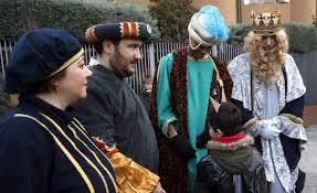 fotos reyes magos cabalgata madrid madrid blindado para proteger la cabalgata de los reyes magos