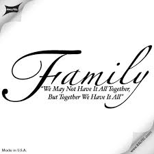 family quote tattoos for family quote wall decal ralfel
