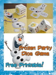 frozen inspired party game free printable today