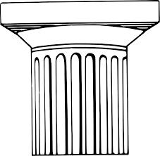 Greek Column Pedestal Greek Columns Clipart